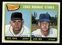 Senators 1965 Rookie Stars (Pete Craig, Dick Nen) [EX MT]