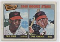 Orioles Rookie Stars (Paul Blair, Dave Johnson) [Good to VG‑EX]