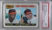 Orioles Rookie Stars (Paul Blair, Dave Johnson) [PSA7NM]
