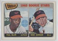 Orioles Rookie Stars (Paul Blair, Dave Johnson)