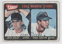 1965 Rookie Stars - Fritz Ackley, Steve Carlton [Poor]