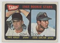 1965 Rookie Stars - Fritz Ackley, Steve Carlton [Good to VG‑EX]
