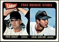 1965 Rookie Stars - Fritz Ackley, Steve Carlton [NMMT]
