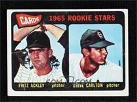 1965 Rookie Stars - Fritz Ackley, Steve Carlton [PoortoFair]