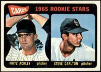 1965 Rookie Stars - Fritz Ackley, Steve Carlton [VGEX+]