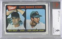 1965 Rookie Stars - Fritz Ackley, Steve Carlton [BVG6EX‑MT]