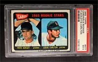 Cards 1965 Rookie Stars (Fritz Ackley, Steve Carlton) [PSA5]