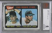 Cards 1965 Rookie Stars (Fritz Ackley, Steve Carlton) [BVG6EX&#8209…