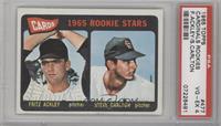 Cards 1965 Rookie Stars (Fritz Ackley, Steve Carlton) [PSA4]