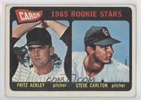 Cards 1965 Rookie Stars (Fritz Ackley, Steve Carlton) [Good to VG&#82…