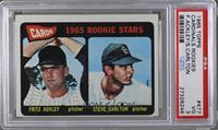 Cards 1965 Rookie Stars (Fritz Ackley, Steve Carlton) [PSA3]