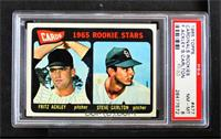 Cards 1965 Rookie Stars (Fritz Ackley, Steve Carlton) [PSA8NM&#8209…