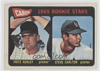 Cards 1965 Rookie Stars (Fritz Ackley, Steve Carlton) [PoortoFair]