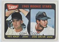 Cards 1965 Rookie Stars (Fritz Ackley, Steve Carlton) [Good to VGR…