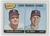 1965 Rookie Stars - Tom Egan, Pat Rogan