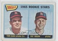 Angels 1965 Rookie Stars (Tom Egan, Pat Rogan)
