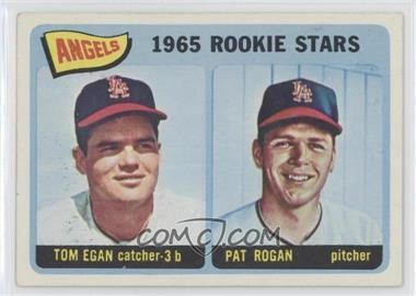 1965 Topps - [Base] #486 - Angels 1965 Rookie Stars (Tom Egan, Pat Rogan) [GoodtoVG‑EX]