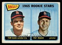 Angels 1965 Rookie Stars (Tom Egan, Pat Rogan) [VG]