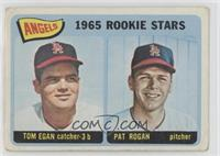 Angels 1965 Rookie Stars (Tom Egan, Pat Rogan) [Poor to Fair]