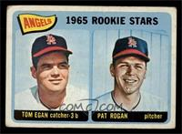 Angels 1965 Rookie Stars (Tom Egan, Pat Rogan) [FAIR]