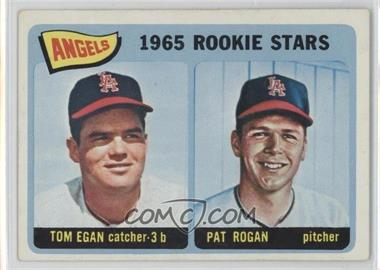 1965 Topps - [Base] #486 - Angels 1965 Rookie Stars (Tom Egan, Pat Rogan)