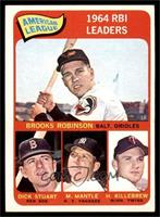 Brooks Robinson, Mickey Mantle, Harmon Killebrew, Dick Stuart [EX]