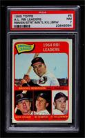 Brooks Robinson, Mickey Mantle, Harmon Killebrew, Dick Stuart [PSA 7 …