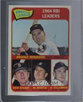 Brooks Robinson, Mickey Mantle, Harmon Killebrew, Dick Stuart [Excellent‑…
