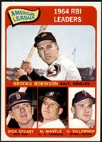 Brooks Robinson, Mickey Mantle, Harmon Killebrew, Dick Stuart [NM MT]