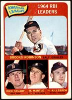 Brooks Robinson, Mickey Mantle, Harmon Killebrew, Dick Stuart [GOOD]