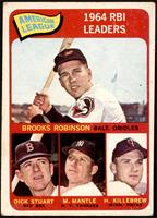 Brooks Robinson, Mickey Mantle, Harmon Killebrew, Dick Stuart [FAIR]