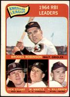 Brooks Robinson, Mickey Mantle, Harmon Killebrew, Dick Stuart [VG EX]