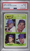 Mets Rookie Stars (Dan Napoleon, Ron Swoboda, Jim Bethke, Tug McGraw) [PSA&nbsp…