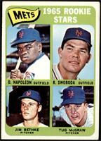 Mets Rookie Stars (Dan Napoleon, Ron Swoboda, Jim Bethke, Tug McGraw) [VG…