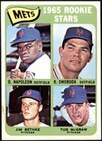 Mets Rookie Stars (Dan Napoleon, Ron Swoboda, Jim Bethke, Tug McGraw) [EX+]