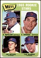 Mets Rookie Stars (Dan Napoleon, Ron Swoboda, Jim Bethke, Tug McGraw) [EX]