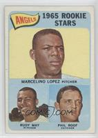 High # - Marcelino Lopez, Rudy May, Phil Roof