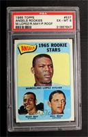 Marcelino Lopez, Rudy May, Phil Roof [PSA 6]