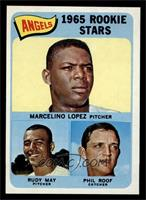 Marcelino Lopez, Rudy May, Phil Roof [NM]