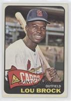 High # - Lou Brock