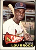 High # - Lou Brock [GOOD]