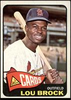 High # - Lou Brock [VG EX]