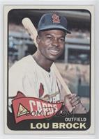 High # - Lou Brock [Good to VG‑EX]
