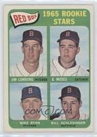 High # - Jim Lonborg, Mike Ryan, Bill Schlesinger, Gerry Moses [NoneGood&…