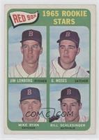 High # - Jim Lonborg, Mike Ryan, Bill Schlesinger, Gerry Moses