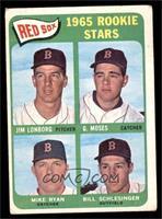 Jim Lonborg, Mike Ryan, Bill Schlesinger, Gerry Moses [GOOD]