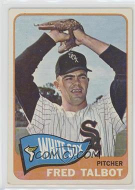 1965 Topps - [Base] #58 - Fred Talbot [Good to VG‑EX]