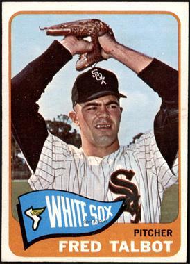 1965 Topps - [Base] #58 - Fred Talbot [EXMT]