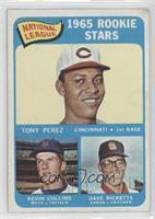 1965 Rookie Stars - Tony Perez, Kevin Collins, Dave Ricketts [Goodto…