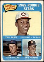 High # - Tony Perez, Kevin Collins, Dave Ricketts [VG]